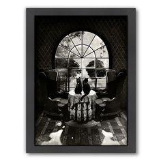 Americanflat ''Room Skull'' Framed Wall Art, Multicolor