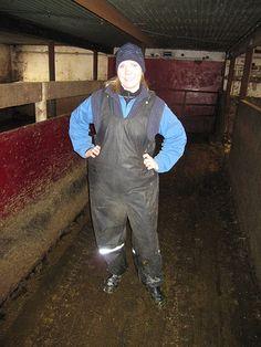 Farmgirl milking | Nor Farm | Flickr