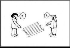 Optický klam, hádka dvou lidí