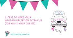 5 Wedding Reception Fun Ideas (To Entertain Your Guests) :: Boogiecat Reception Ideas, Wedding Reception, Fun Ideas, More Fun, Really Cool Stuff, Entertaining, Reading, Marriage Reception, Wedding Receiving Line