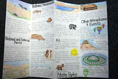 State brochure. Includes the state's capital, parks, landforms, etc.