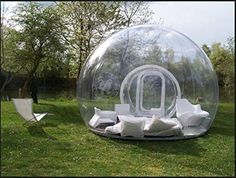Enjoy camping and the outdoors in a different light with this unique single tunnel inflatable bubble tent.Great for backyards and families and perfect for stargazing. It has a wide application for advertising, camping, holiday leisure outdoor activities, trade shows, exhibitions, promotion, outdoor shelter, car shelter, etc. It can be easily installed in parties, parks, amusement centers, backyard, gardens. It comes with a free blower and repair kit and it is made with a high quality hot…