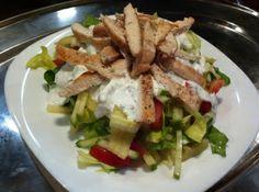 Csirkemell saláta recept