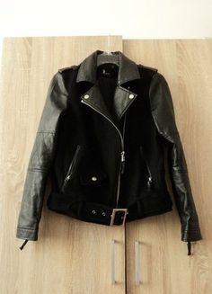 Kup mój przedmiot na #vintedpl http://www.vinted.pl/damska-odziez/kurtki/15630234-czarna-kurtka-biker-ramoneska-tally-weijl-roz-36-s