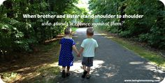 The bond between twins is very unique. #siblings