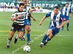 Andre Cuz v Jorge Costa, Deco e Chainho do FC Porto