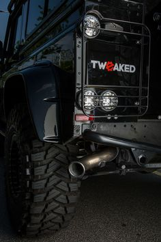Tweaked Automotive Land Rover Defender Spectre