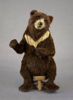 Fairystudiokallies: Bear in 1/12 scale :O)