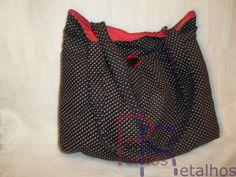 Pontos e Retalhos:    Minha nova mala e meu necessaire.
