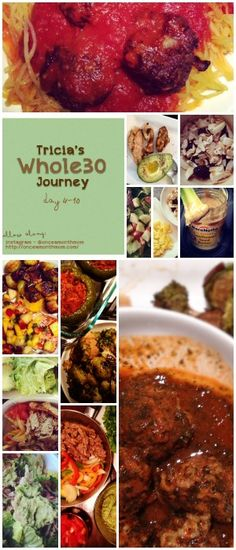Whole30: Week Two Updates. I want to remember these meals for after boards for my body spring cleaning!