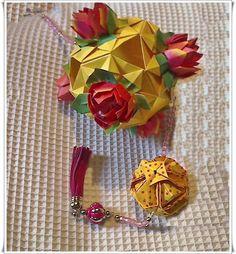 Amor em dobras S2: Kusudama com Flor de Lotus