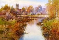 Painting of Chiddingstone England