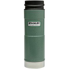 Classic One Hand Vacuum Mug 12/oz, or 16oz/473 mL - Fits in most bottle cages!