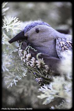 """love is like a habit"" bird made by designer and illustrator Danielle Hanson"