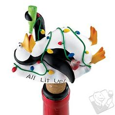 Penguin Wine Bottle Stopper