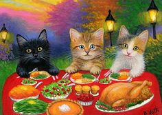 thanksgiving paintings - Google Search