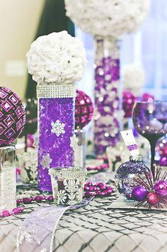 25 Tischdeko-Ideen für eine Hochzeit zur Weihnachtszeit