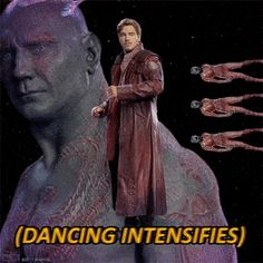 If someone who's never seen the movies / read the comics asks you what Guardians of the Galaxy is, just show them these GIFs without any explanation