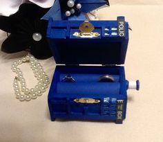 TARDIS Wedding Ring Box With LED Light