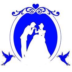 Cinderella pumpkin stencil. Original silhouette in centre found online.