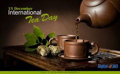 Today is #InternationalTeaDay - The first one was celebrated in #NewDelhi in 2005, Cheers to that! Nothing better than some Garam #Chai - It doesn't matter what time of the day is! #TeaLove #Digital360