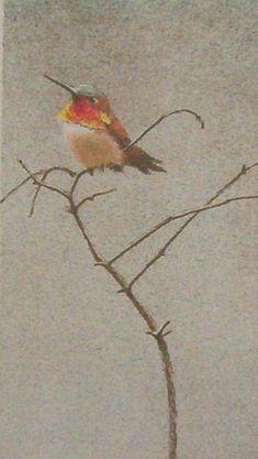 Robert Bateman Rufous Hummingbird