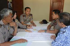 Silahturahmi Kapolres Gresik dengan REI Gresik dalam Rangka Kerjasama Pembangunan Rumah Anggota