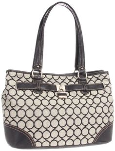 Nine West 9 Jacquard 0240002NW Satchel,Black/Ivory/Black,One Size Nine West,http://www.amazon.com/dp/B005ONNTWO/ref=cm_sw_r_pi_dp_1yDstb1RAC45PGBR