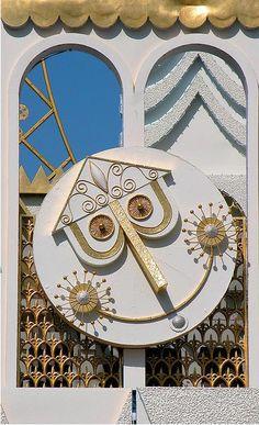 It's a Small World clock at Disneyland