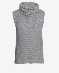 Autumn Cashmere Hi/Lo Cowl Gilet | Shop IntermixOnline.com $348