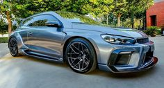 Start your week with awesomeness: rally-inspired widebody VW Scirocco R!