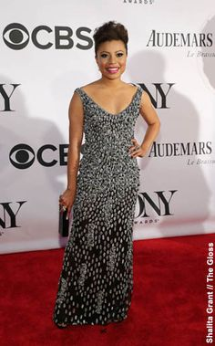 NewYorkDress Blog // Theia at the Tony Awards // Click through to see all the fabulous celebrities who wore Theia on the red carpet at this year's Tony Awards 2013! // #ShalitaGrant