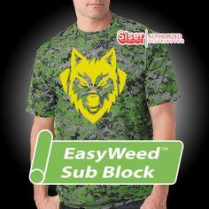 / Siser Easyweed Sub Block - Heat Transfer Vinyl - HTV by OneSourceStore on Etsy Siser Easyweed, Vinyl Signs, Heat Transfer Vinyl, Mens Tops, Etsy