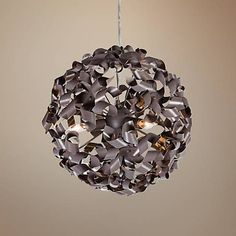This Contemporary Bronze Pendant Light Is Eco Friendly And Caters To Modish Aesthetic