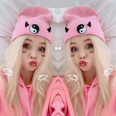 Nanami, Best Youtubers, Cute, Beauty, Piercing, Idol, Black, Beleza, Piercings