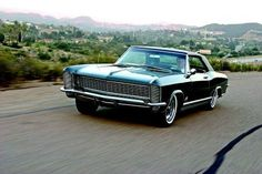 1965 Buick Riviera GS, the gentleman's muscle car.