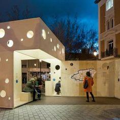 blur arquitectura . caja mágica - Pabellón  Sede - Concéntrico . Logroño (2)