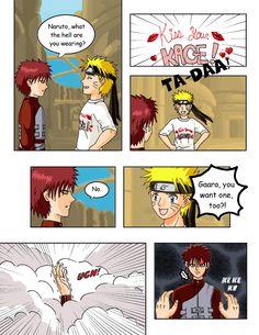 Naruto: Kiss Your Kage Page 1 by Ryoko-and-Yami