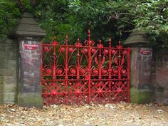 Strawberry Fields Gate, Liverpool (if it has to do with the beatles and I'm there!)