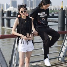 Here's some cool #punk #streetstyle all the way from China! Melody (20) and MaHaoran (24) feature in our new series #pbcommunitystyle with their outfits for the Strawberry Festival in Shanghai! #pullandbear