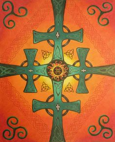 """Celtic Knots by Kelly Wood (Colored Pencil) 16""""x20"""""""