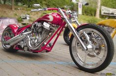 Special chopper. See more photos on CustomMANIA.com