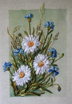 Gallery.ru / Фото #108 - Моя вышивка лентами 2013 год - pskov-sveta