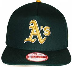 New Era - 9FIFTY Flip Up A-FRAME Snapback - Oakland Athletics Oakland  Athletics 1c47cd1c6c7