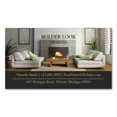 309 best Interior Designer Business Cards images on Pinterest in ...