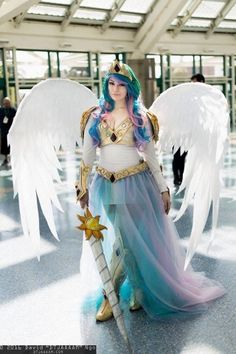 princess celestia cosplay 1