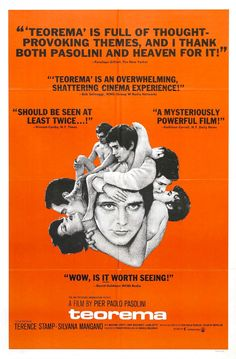 Pier Paolo Pasolini (1968) Teorema | M87 | #movie #film #movieposter #pasolini