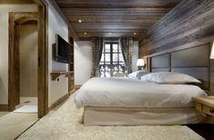Les Gentianes 1850, Chalet in Courchevel 10 Bedroom, ideas, room, creative, interior, home, house, organization, apartment, storage, indoor, modern, vintage, sleep. bed, sleeproom, furniture, decor, decoration.