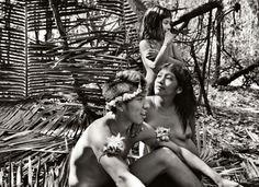 The Awá Indians in Eastern Amazon, Brazil. Sebastião Salgado