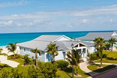 Resorts World Bimini's Four-Bedroom Oceanfront Villa overlooking the Atlantic Ocean and with a panoramic view of Bimini's amazing sunsets